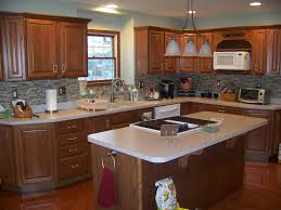 wall colors for oak cabinets bungalow home staging redesign