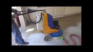 concrete grinding epoxy flake garage floor youtube
