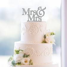 mrs and mrs cake topper 40 best wedding cake toppers wedding guide uk