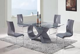 modern glass dining room sets modern design ideas