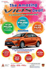 toyota philippines vios the amazing vios deal toyota motor philippines no 1 car brand