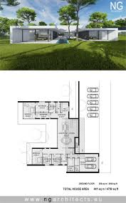 modern house plan Villa Unity designed by NG architects