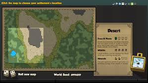 Biomes Map New Biome Desert Transition Temperate Multi Biome Map