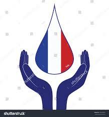 Flag People France National Flag People Man Woman Stock Illustration 707252602
