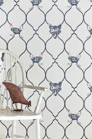 fox and hen wallpaper charcoal foxy pheasant