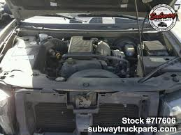 used 2002 chevrolet trailblazer 4 2l parts sacramento