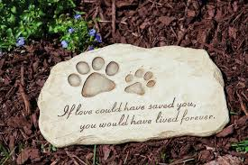 dog grave markers dog cat paw stepping grave pet memorial plaque print frame