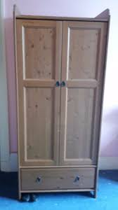 Childs Bedroom Furniture Tall Boy Wardrobe Cupboard In Meadows - Edinburgh bedroom furniture