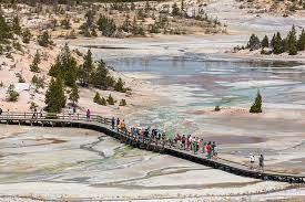 Wyoming Travel Words images The world 39 s tallest active geyser is acting up wyoming public media jpg