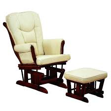 Nursery Upholstered Rocking Chairs Graco Semi Upholstered Glider And Nursing Ottoman Locking