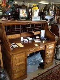 Oak Roll Top Secretary Desk by Value Of Used Oak Roll Top Desk Decorative Desk Decoration