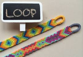 diy easy beginning loop for friendship bracelets handmade crafts