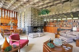 frank lloyd wright home interiors a frank lloyd wright house for sale hooked on houses