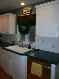 subway tile stencil painting laminate backsplash painted
