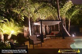Landscape Lighting Companies Backyard Lighting Illumination Fl
