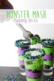 monster mash pudding shots mama plus one