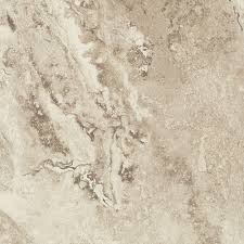 Floors And Decors by Trafficmaster Groutable 18 In X 18 In White And Grey Travertine