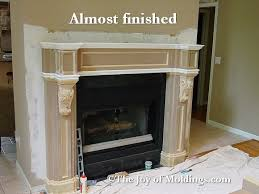 How To Build Fireplace Surround by How To Build Fireplace Mantel 103 Part 10 Paneled Frieze The