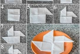 how to fold table napkins 28 napkin folding techniques that will transform your dinner table