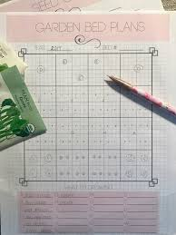 free printable garden planner how does your garden grow from