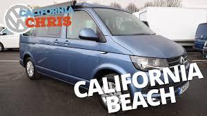 new 2016 volkswagen t6 california beach walk around youtube