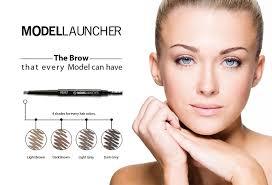 light grey eyebrow pencil brow duo pencil modellauncher cosmetics