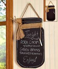 Retro Chalkboards For Kitchen by Chalkboard Canisters Ebay