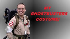 my ghostbusters costume halloween 2016 youtube