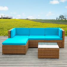 wicker outdoor sofa enjoy your summer with outdoor wicker furniture 50 idea photos