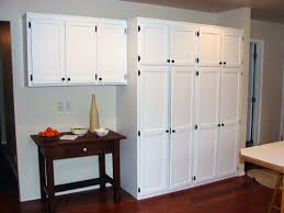 Built In Desk Cabinets Pantry Cabinet Built In Kitchen Pantry Cabinet With Builtin White