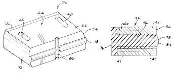 patent us6394460 one piece ram element block for wireline