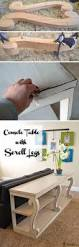 Diy Console Table 20 Easy Diy Console Table And Sofa Table Ideas Hative