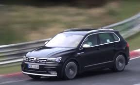 first volkswagen ever made 2018 volkswagen tiguan r spied for the first time at the