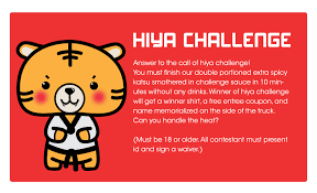 In Challenge Hiya Challenge Hiya