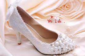 pearl wedding shoes ws163 lace pearl wedding shoes