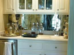 mirror backsplash in kitchen mirrored kitchen backsplash wanderfit co