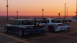 mazda rx7 drift mazda rx7 c west add on replace livery template gta5