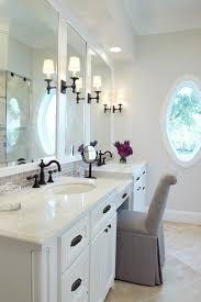 circa lighting bathroom traditional with black fixtures beige