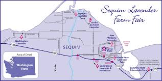Map Of Sequim Wa Sequim Lavender Farm Tour Jardin Du Soleil