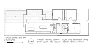 Ground Floor Plan Gallery Of Shakin U0027 Stevens Residence Matt Gibson Architecture