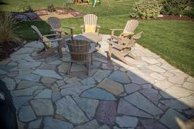 flagstone pavers patio natural stone pavers twin city landscape