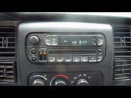 2002 dodge dakota radio dodge dakota radio replacement