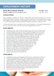 nursing resume templates nurse resume examples registered