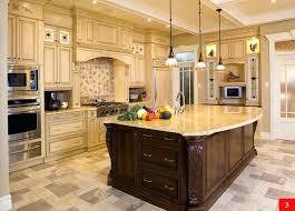 island kitchen cabinet traditional two tone kitchen kitchen island