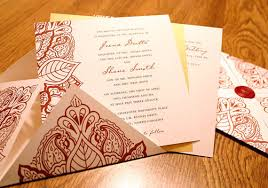 contemporary indian wedding invitations modern indian wedding invitations