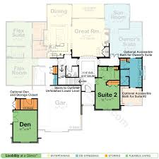 houses with 2 master bedrooms cool small house plans with two master suites contemporary ideas