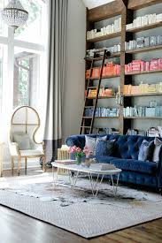 Navy Blue Sofas by 13 Best Blue Sofas Applied In A Living Room With Library Images On