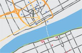 Windsor Usa Map by Detroit Windsor Tunnel