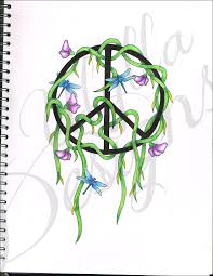 peace sign design by ulylla on deviantart