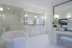 White Framed Bathroom Mirrors Custom Framed Mirrors For Bathrooms Bathroom Cabinets Wood Vanity